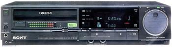 Sony Betamax SL-HF900