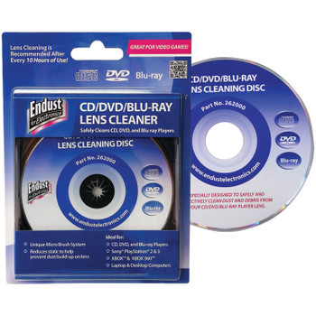 CD/DVD/BLU-RAY Lens Cleaner