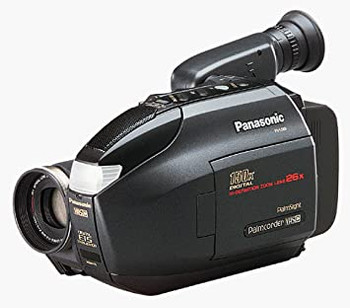 Panasonic Digital Palmcorder VHS-C Camcorder PV-L559
