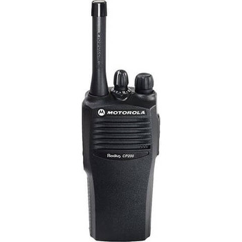 Motorola CP200 Two Way Radio UHF (403-440 Mhz)(AAH50QDC9AA1AN) 4-channel
