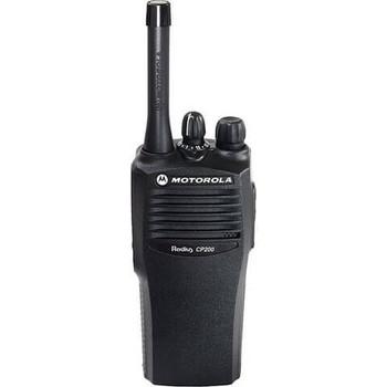 Motorola CP200 Two Way Radio UHF (465-495 Mhz)(AAH50SDC9AA1AN) 4-channel