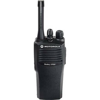 Motorola CP200 Two Way Radio UHF (465-495 Mhz)(AAH50SDC9AA2AN) 16-channel