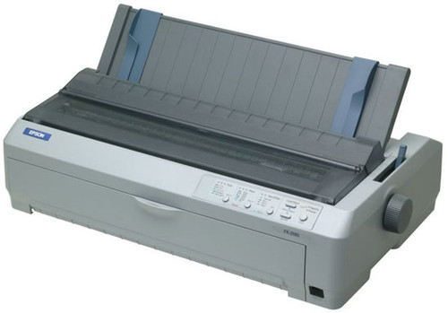 Epson FX 2190N Monochrome Dot-Matrix Printer