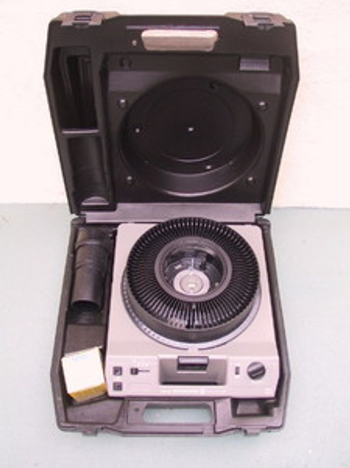 Kodak Carousel Slide Projector Hard Tiffen Case - Projector Not Included