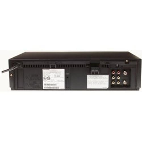Panasonic PV V4522 4‑head VCR ‑ Black