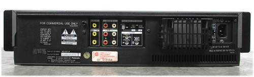 Panasonic AG-W1 VHS World Wide Hi-Fi VHS VCR Recorder