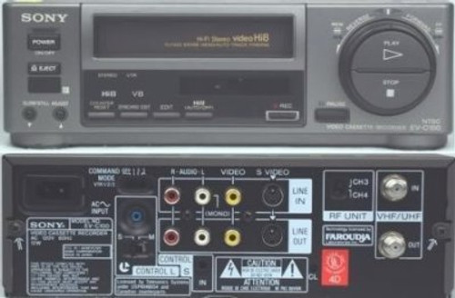 Sony EV-C100 Hi8 Video8 VCR