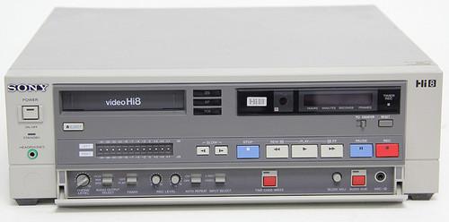 Sony EVO-9500A Videocassette (Hi8) Recorder