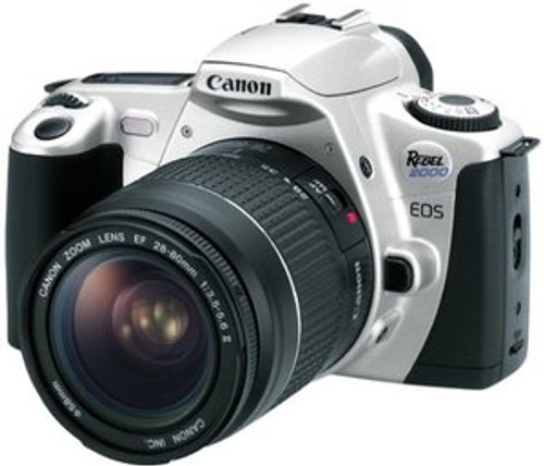 Canon EOS Rebel 2000 35mm Film SLR Camera with 28-80mm Lens