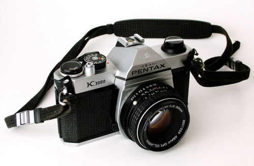 Pentax K1000 Camera with 50mm Lens (Asahi Model)