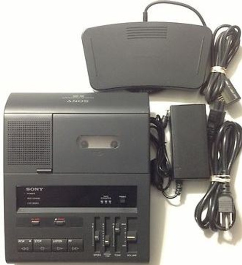 Sony Bi-85 Standard Cassette Transcription Transcribing Transcriber Machine