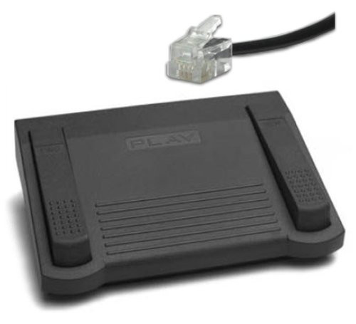 Dictaphone Foot Pedal Fits Models ending in 40's & 50's with telephone plug