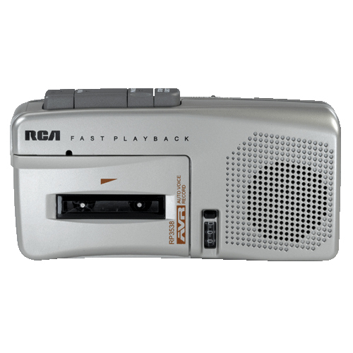 RCA RP3538 Microcassette Recorder