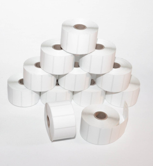 Roll of 1300 Label 2X1 Direct Thermal for Zebra Printers