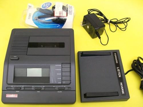 Lanier VW-110 Standard Cassette Transcriber Dictation Machine