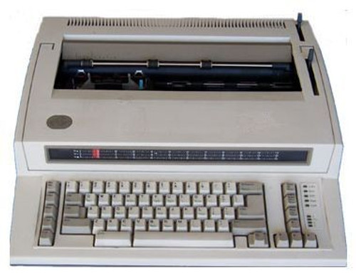 IBM Wheelwriter 2 Typwriter