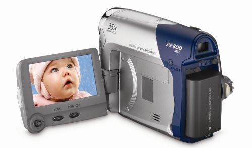 Canon ZR800 MiniDV Camcorder w/20x Optical Zoom