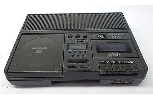 Eiki 7070A CD Player & Tape Player/Recorder