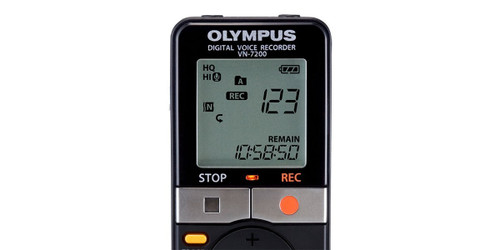 Olympus VN-7200 Digital Voice Recorder (Black)