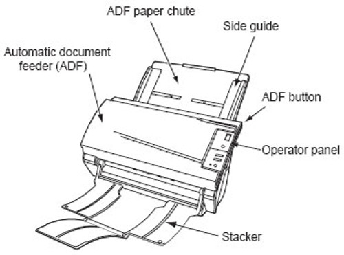 Fujitsu fi-5120c Scanner