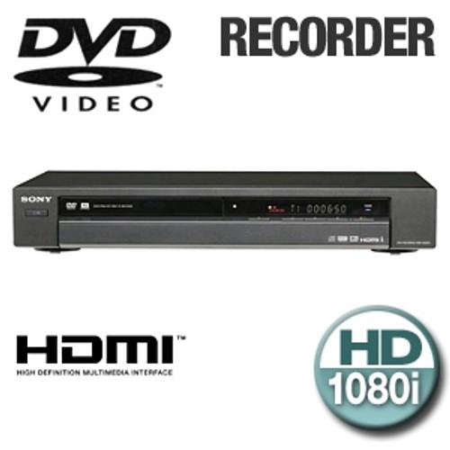 Sony RDR-GX255 DVD Recorder (HDMI)