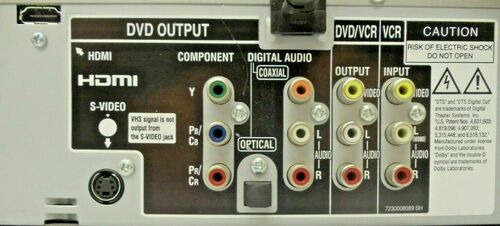 Toshiba SD-V592SU DVD/VCR Combo HDMI  (DVD player VCR player/recorder)