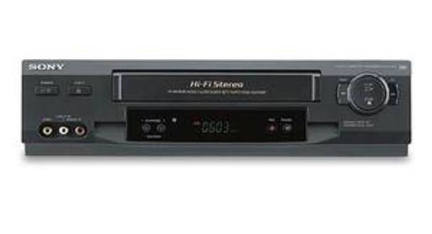 Sony SLV-N51 4-Head Hi-Fi VCR with Tuner