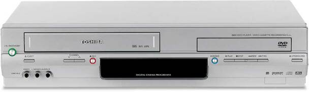 Toshiba SD-V394 DVD/VCR Combo  (DVD player only & VCR player/recorder)