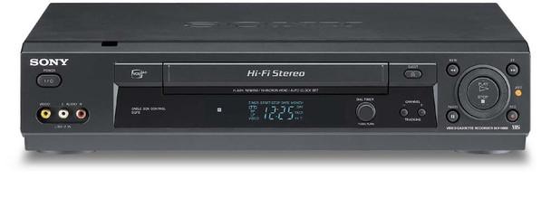 Sony SLV-N900 Hi-Fi VHS VCR