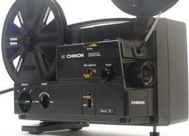 Chinon 2500 8mm and Super 8mm film Projector
