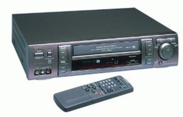 Aiwa HV-MX100-U vcr vhs player/recorder ntsc pal secam
