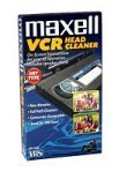 VHS Dry Tape Video Head Cleaner