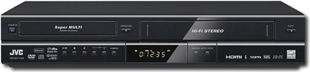 JVC DR-MV150B Recorder/VCR Recorder with Digital Tuner