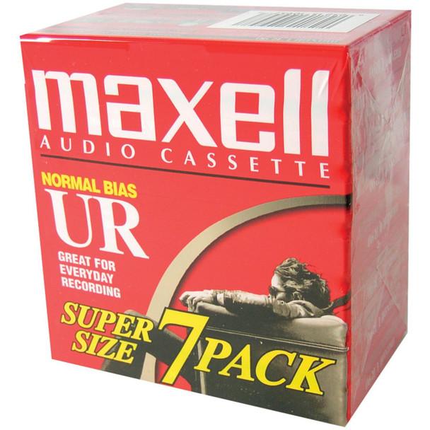 Standard UR-90 Blank Audio Cassette Tape - 7 Pack