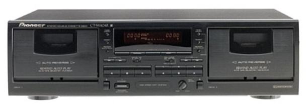 Pioneer CT-W404R Dual Cassette Deck