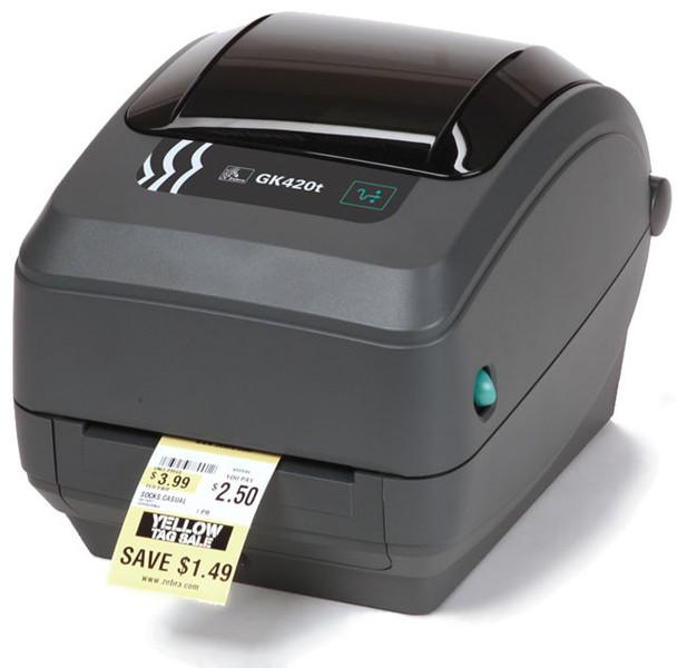 Zebra GK420t Direct Thermal/Thermal Transfer Printer