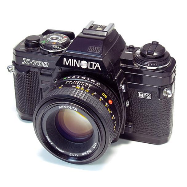 Minolta X-700 35mm SLR Camera with 50mm lens