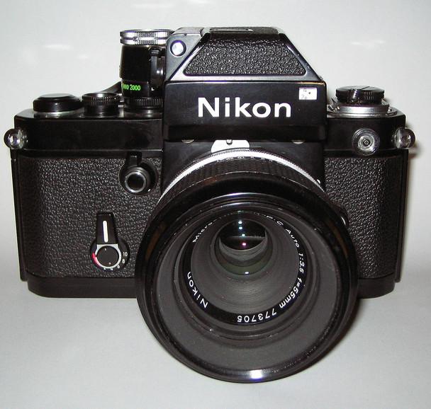 Nikon F2 Film Camera w/ Nikon 50mm Lens