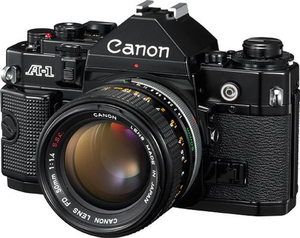 Canon A-1 film Camera w/ 50mm lens