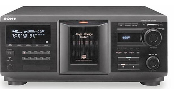 Sony CDP-CX450 400-CD Mega Changer