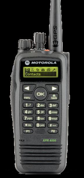 Motorola XPR6550 160 Channels Radio UHF/VHF