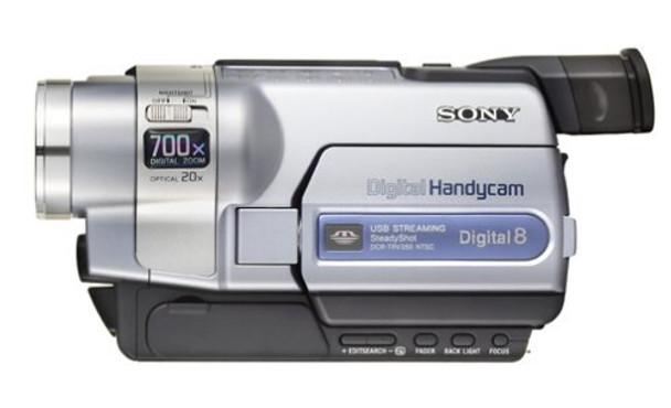 Sony DCR-TRV350 Handycam Camcorder (Digital8 and Hi8)
