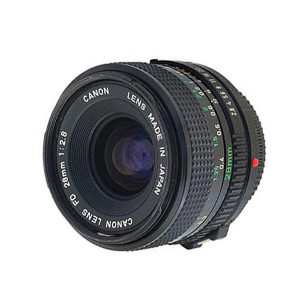 FD 28mm Lens (various brands)