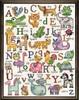 ABC Animals Sampler Cross Stitch Kit by Design Works