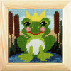 My first Embroidery Needlepoint Kit - Frog By Orchidea