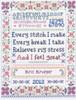 Every Stitch Sampler - Cross Stitch Chart By Sandra Cozzolino