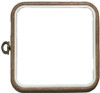 Square 6 x 6 inch Flexi Hoop for Cross Stitch