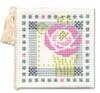 Mackintosh Rose Needle Case Cross Stitch Kit by Textile Heritage