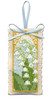 Lily of the Valley Sachet Cross Stitch Kit by Textile Heritage