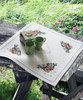 Tablecloth: Poppy, Daisy & Bluebell Cross Stitch Kit By Anchor